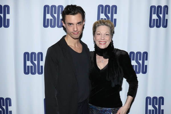 James Cusati-Moyer and Marin Mazzie