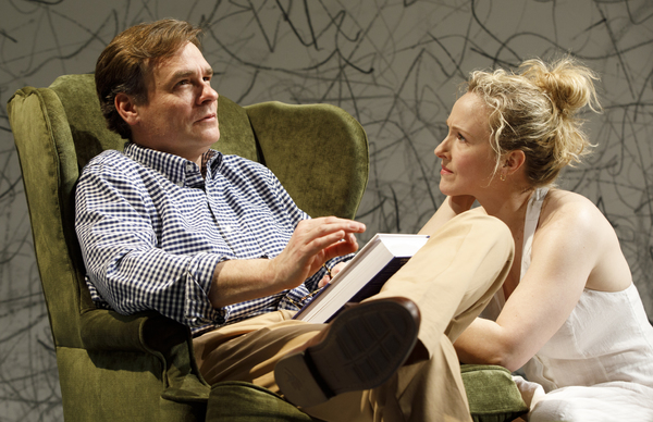 Photo Flash: Inside Signature Theatre's AT HOME AT THE ZOO Starring Robert Sean Leonard, Katie Finneran, and Paul Sparks