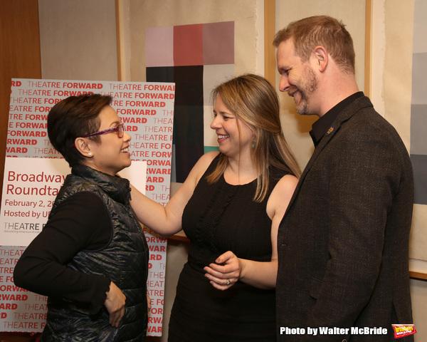Lea Salonga, Irene Sankoff and David Hein