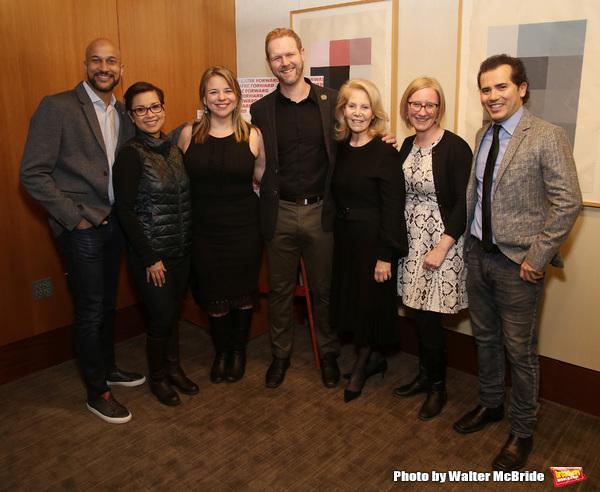 Keegan-Michael Key, Lea Salonga, Irene Sankoff, David Hein, Daryl Roth, Heather A. Hitchens and  John Leguizamo