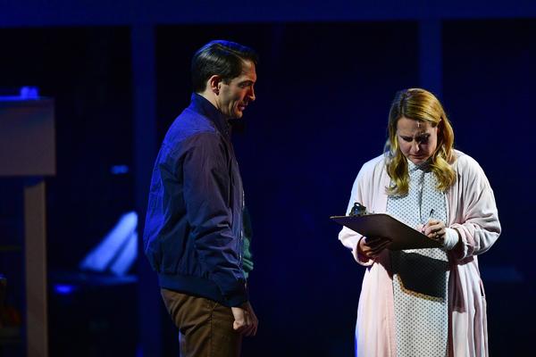 Ben Dibble as Dan with Krissy Fraelich as Diana. Photo