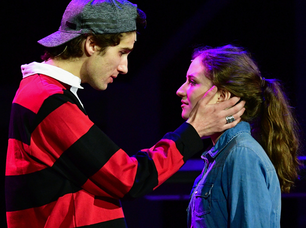Christopher Infantino as Henry, with Molly Sorensen as Natalie