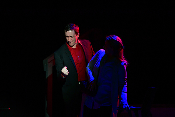 Patrick Ludt as Doctor Madden with Krissy Fraelich as Diana  Photo