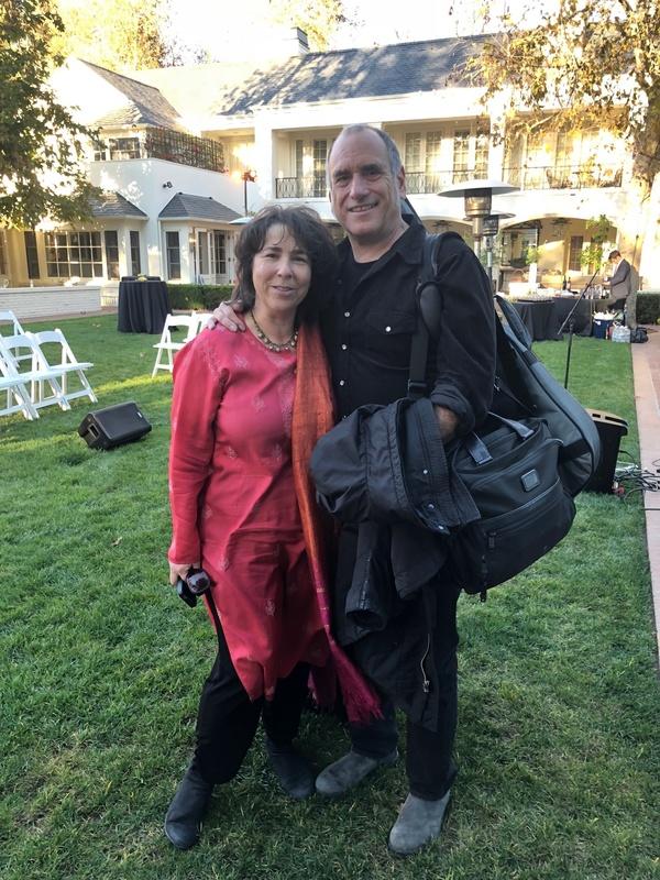 Aimee Ginsburg Bikel and David Broza