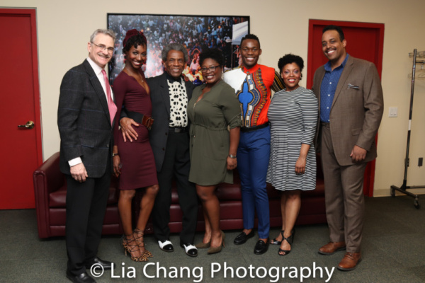 Murray Horwitz, Zurin Villanueva, Andre De Shields,  Johmaalya Adelekan, Borris York, Photo
