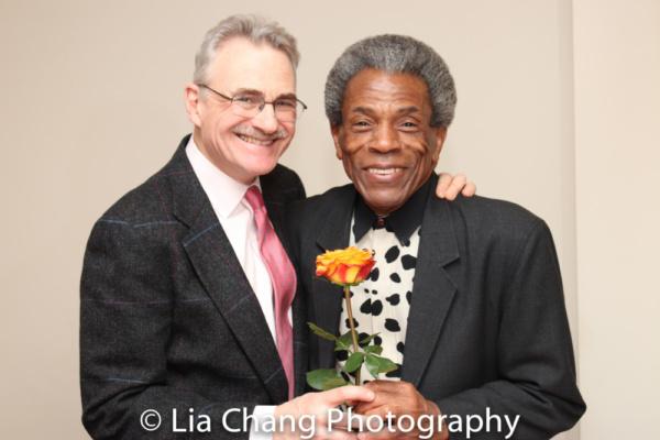 AIN'T MISBEHAVIN' co- creator Murray Horwitz and Andre De Shields Photo