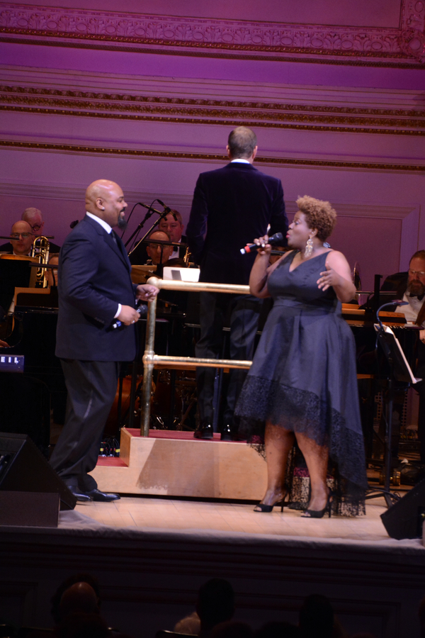James Monroe Iglehart, Steven Reineke and Capathia Jenkins