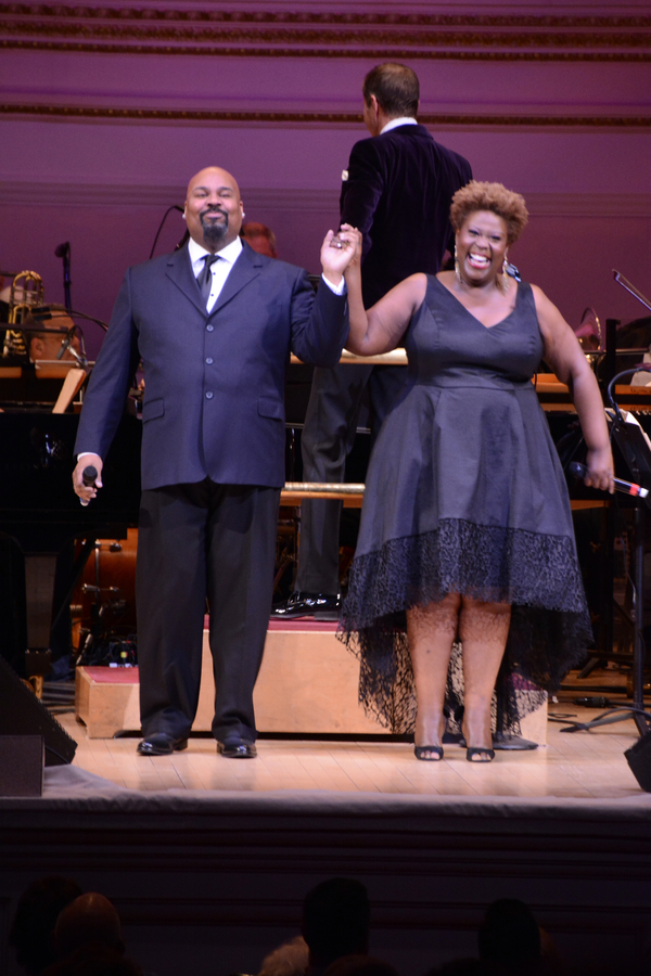 James Monroe Iglehart and Capathia Jenkins