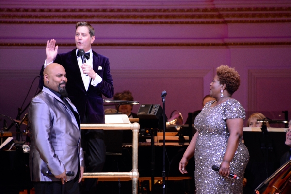 Photo Coverage: The New York Pops Presents HEART AND SOUL, Featuring James Monroe Iglehart and Capathia Jenkins