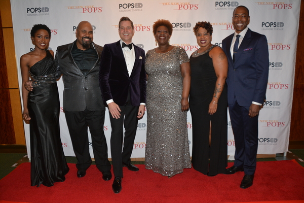 Anastasia Talley, James Monroe Iglehart, Steven Reineke, Capathia Jenkins, Crystal Mo Photo