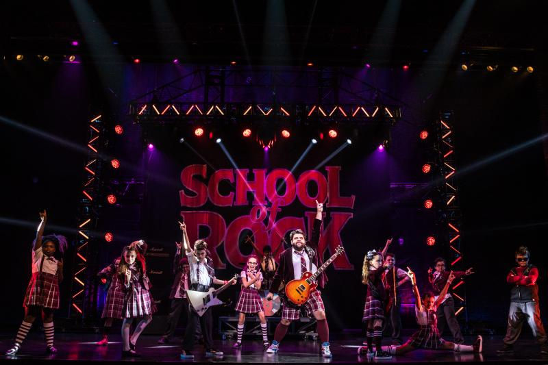 BWW Review: SCHOOL OF ROCK at The Hobby Center