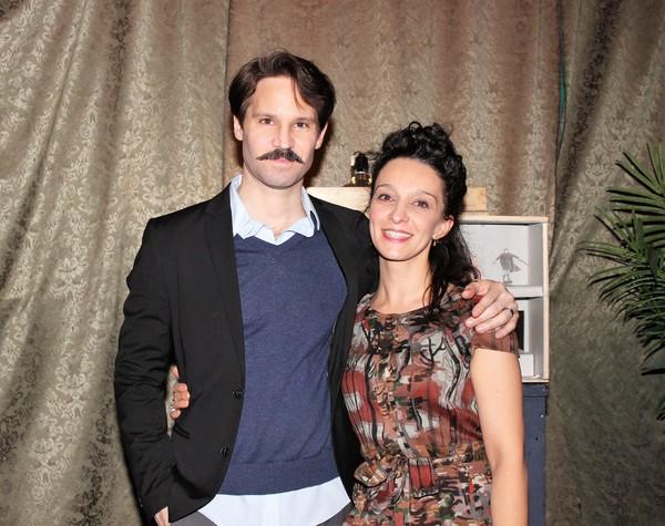 Rodrigo Lopresti and Cristina Spino