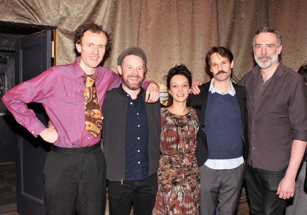 Ed Malone, David O''Hara, Cristina Spino, Rodrigo Lopresti and Aidan Redmond