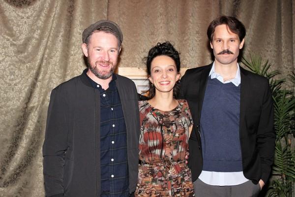 David O''Hara, Cristina Spina and Ridrigo Lopresti