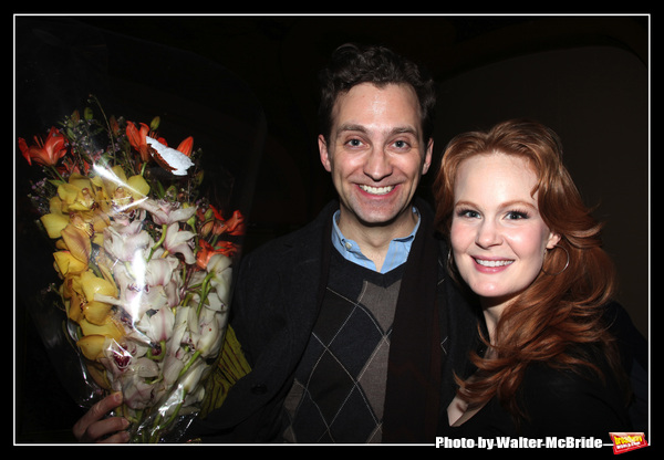 BWW Flashback: Broadway Couple Kate Baldwin and Graham Rowat Attend Closing Night of FINIAN'S RAINBOW at Encores!