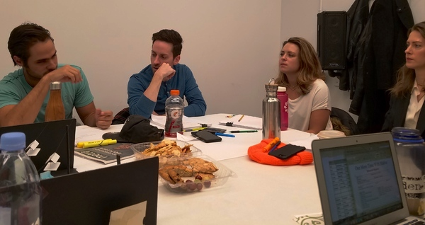 Photo Flash: Two Cups and a String Theatre's ONE MORE TIME WITH MALICE Has First Table Read