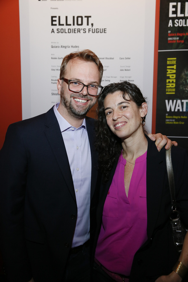 Photos: Inside Opening Night of Center Theatre Group's ELLIOT, A SOLDIER'S FUGUE