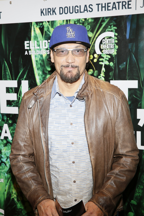 """Actor Jimmy Smits attends the opening night performance of """"Elliot, A Soldier's Fugue� at Center Theatre Group's Kirk Douglas Theatre on February 3, 2018, in Culver City, California. (Photo by Ryan Miller/Capture Imaging)"""