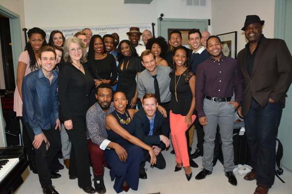 54 Sings Memphis.the cast includes-Chad Kimball, Felicia Boswell, J. Bernard Calloway, Gilbert L. Bailey II, Antoine L. Smith, Cass Morgan, Justin Baret, Darius Baresm Iris Beaumier, Dionne Figgins, Lauren Lim Jackson, Tyrone Jackson, Kyle Javon, Raquel J