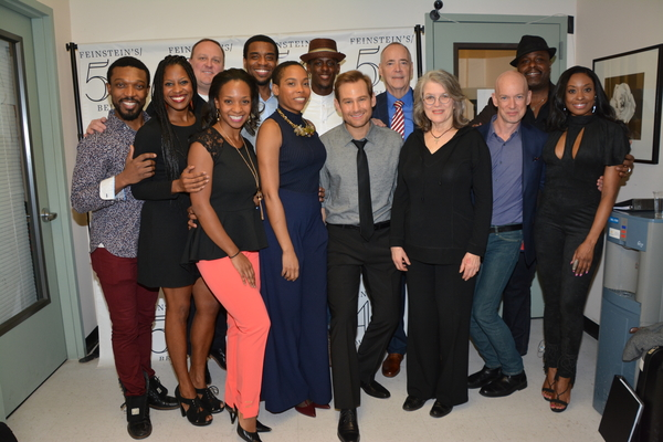 Original cast members that includes-Tyrone Jackson, Danielle Williamson, Kevin Covert Photo