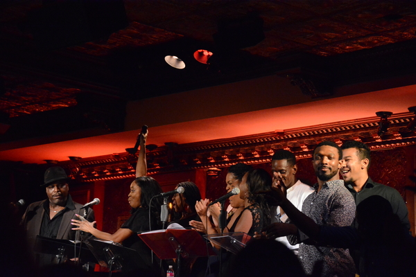 J. Bernard Calloway, Felicia Boswell and The Beale Street Ensemble that included-Justin Baret, Darius Barnes, Irish Beaumier, Dionne Figgins, Lauren Lim Jackson, Tyrone Jackson, Kyle Javon, Raquel Jennings, Candice Monet McCall and Danielle Williamson