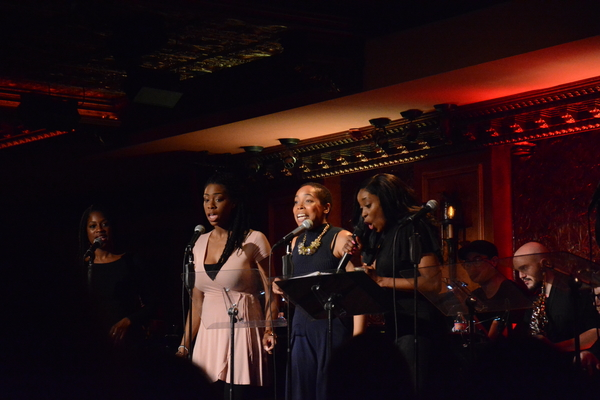 Felicia Boswell and the Someday Singers-Dan'yelle Williamson, Raquel Jennings and Dio Photo