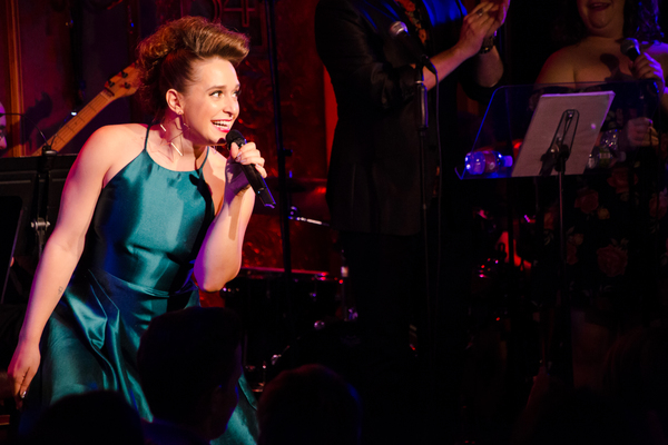 Jessica Vosk in Being Green at 54 Below