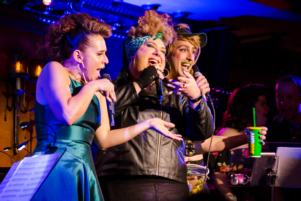 Jessica Vosk and the 2Scoops in Being Green at 54 Below