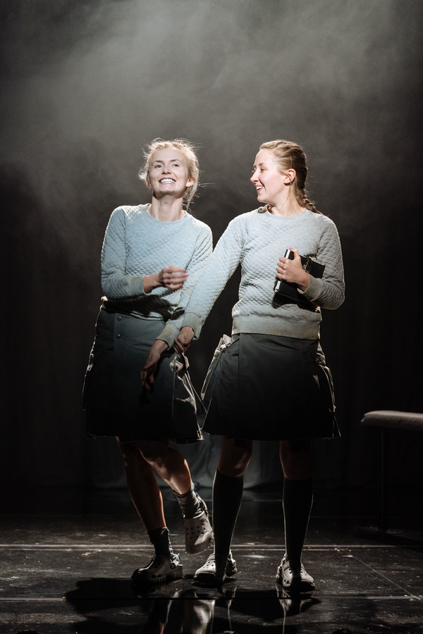 Sophie Melville (Sassa) and Erin Doherty (Soween)