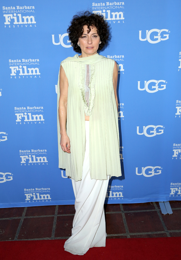 Actress Lidia Vitale attends the Santa Barbara Award Presented by UGGÂ�® at the Sant Photo