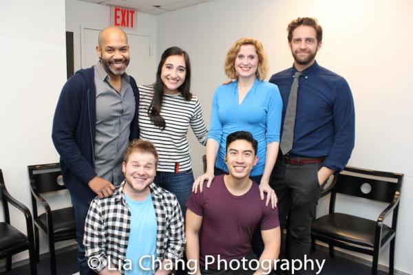 (Front Row) F. Michael Haynie, Devin Ilaw; (Back Row) Darius de Haas, Krystina Alabado, Christiane Noll and Colin Hanlon