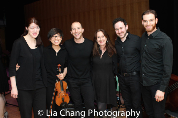 The Band: Jennifer Shaw, Emily Chiu, Charlie Alterman, Mary Ann McSweeney, Mike Rosen Photo