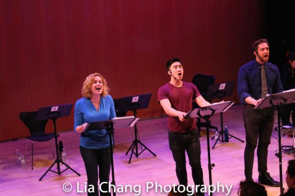 Christiane Noll, Devin Ilaw and Colin Hanlon
