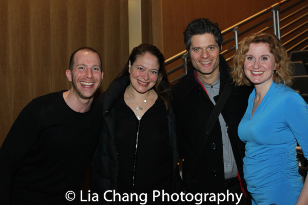 Charlie Alterman, Rita Pietropinto, Tom Kitt and Christiane Noll Photo