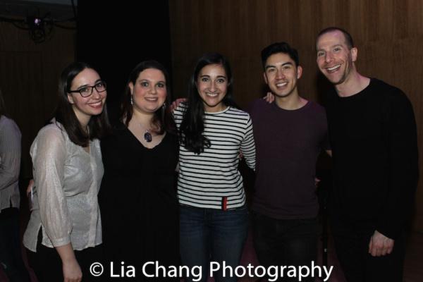 Daniella Caggiano, Rachel Kunstadt, Krystina Alabado, Devin Ilaw and Charlie Alterman Photo