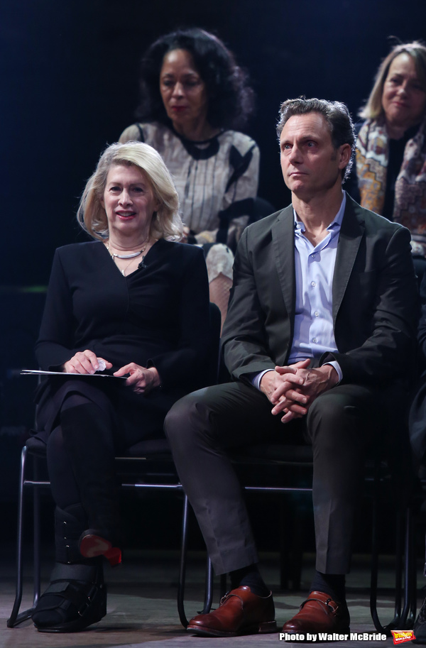 Carole Rothman and Tony Goldwyn