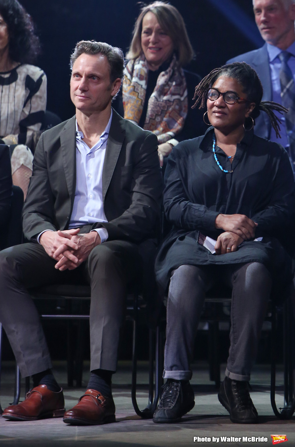 Tony Goldwyn and Lynne Nottage