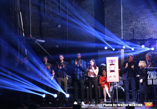Photo Coverage: Lights Up! Second Stage Illuminates the Renovated Hayes Theater