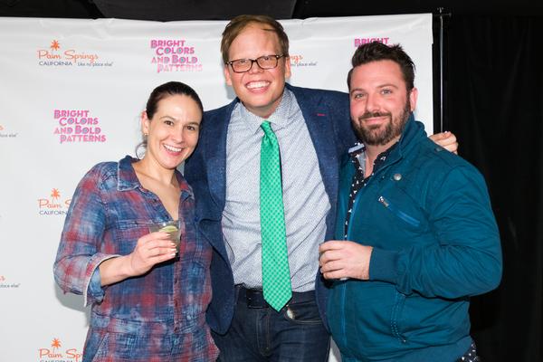 Caitlyn Bitzegeo, Jeff Hiller, and Timothy Dunn