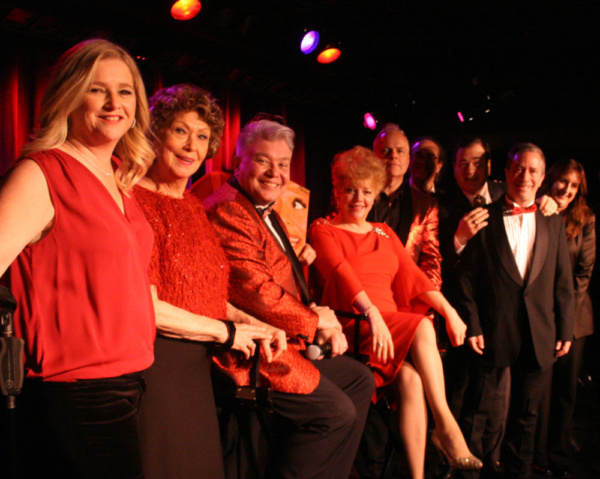 Photos: Richard Skipper Celebrates Carol Channing's 97th Birthday at the Laurie Beechman Theater