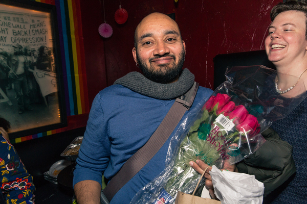 Photo Flash: Rattlestick Playwrights Theater Celebrates Opening Night of DRAW THE CIRCLE