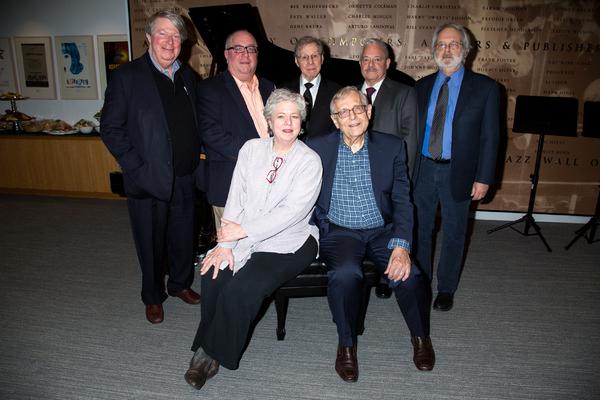Andre Bishop, Richard Terrano, Sarah Douglas, Maury Yeston, Richard Maltby, Jr., Elliot Brown, John Weidman