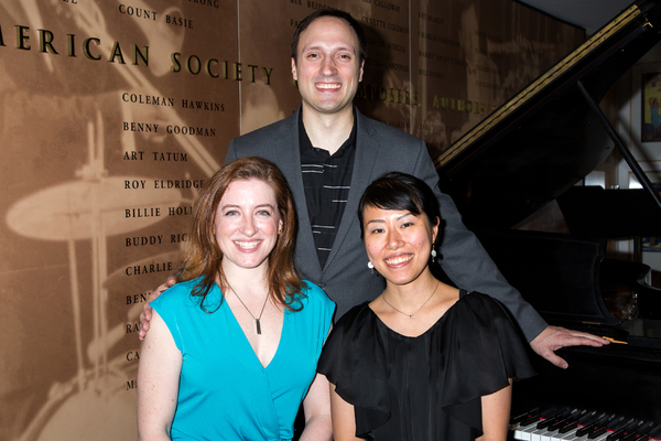Charissa Bertels, Christian Duhamel, Ayumi Okada Photo