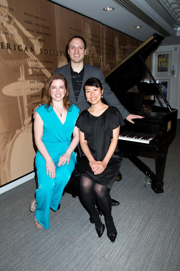 Charissa Bertels, Christian Duhamel, Ayumi Okada