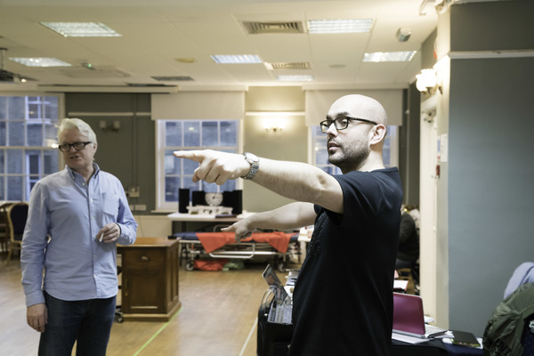 Photo Flash: In Rehearsal with the UK Tour of THIS HOUSE