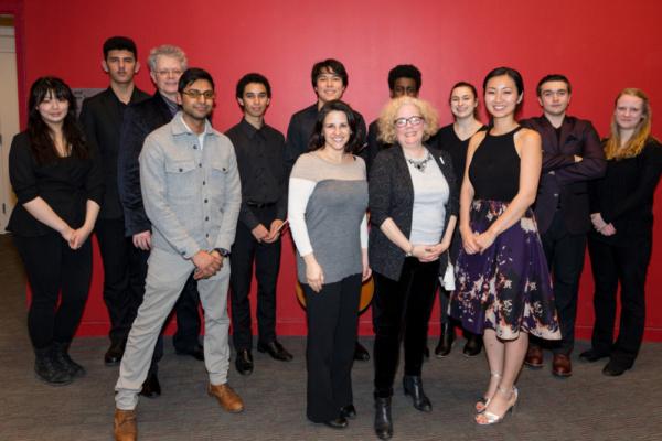 Photo Flash: Kaufman Music Center Presents 'Face The Music' & Kronos Quartet