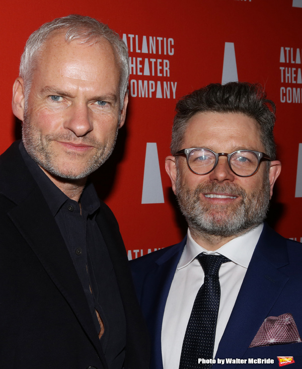 Playwright Martin McDonagh and director Matthew Dunster