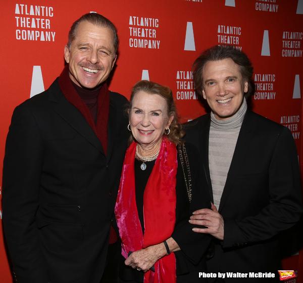 Maxwell Caufield, Juliet Mills and Charles Busch