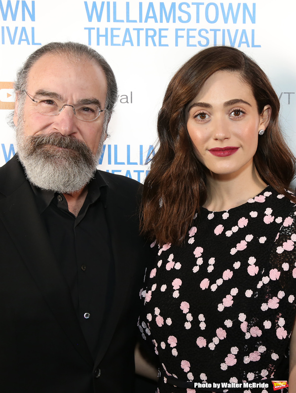 Mandy Patinkin and Emmy Rossum Photo