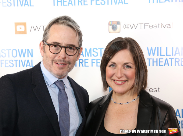 Matthew Broderick and Mandy Greenfield